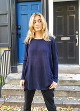 Load image into Gallery viewer, Italian Lounge Sweater - DARK BLUE