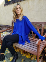 Load image into Gallery viewer, Italian Lounge Sweater - ROYAL BLUE