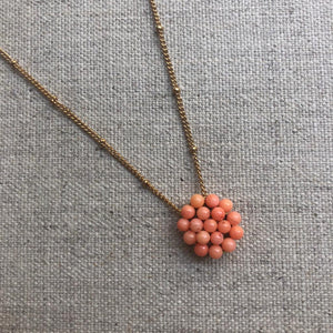 Tata Necklace - Coral