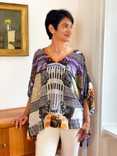 Load image into Gallery viewer, Italian Caftan Top - Portofino