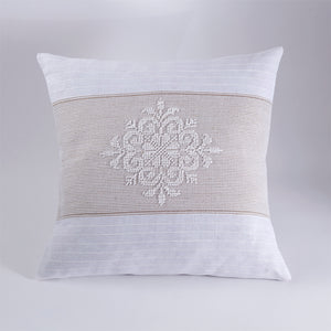 Handwoven Pillow Cover - Pistoccu Taupe