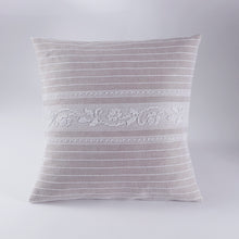 Load image into Gallery viewer, Handwoven Roselline Pillow Cover