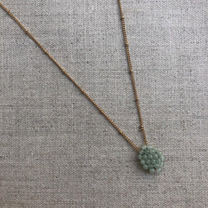 Tata Necklace -  Sage
