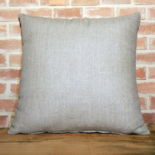 Load image into Gallery viewer, Hand-Printed Pillow Cover - WHITE