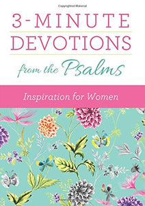 3-Minute Devotions from the Psalms: Inspiration for Women