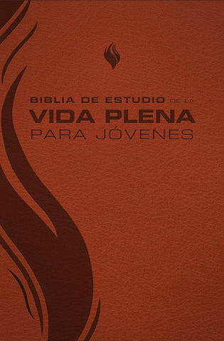 Biblia de Estudio de la Vida Plena para Jóvenes RV60 (Marrón) Imitation Leather