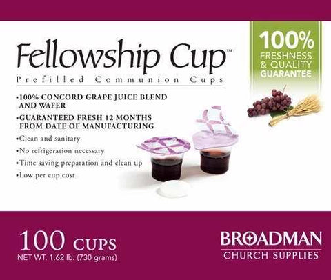 Fellowship Cup Box 100