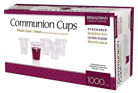 COMMUNION CUPS 1000 PLASTIC