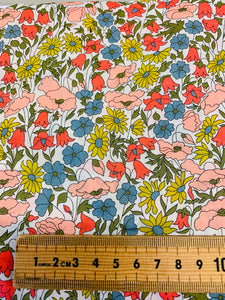 Liberty Fabrics Tana cotton lawn: Poppy & Daisy