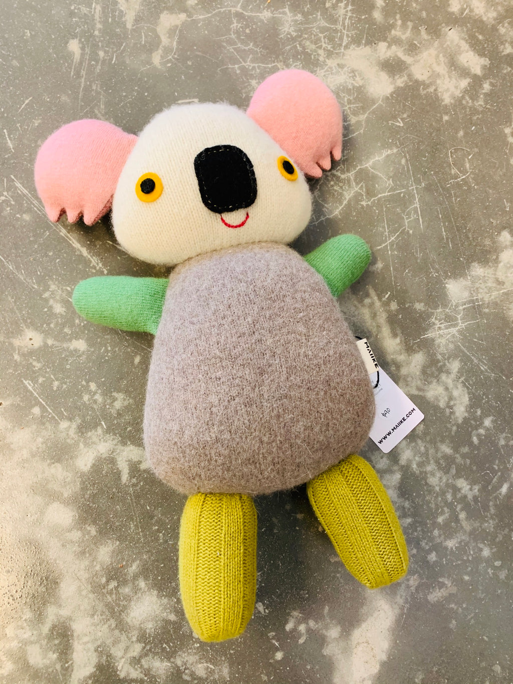 Maiike koala in Pastel dream by Aly Peel