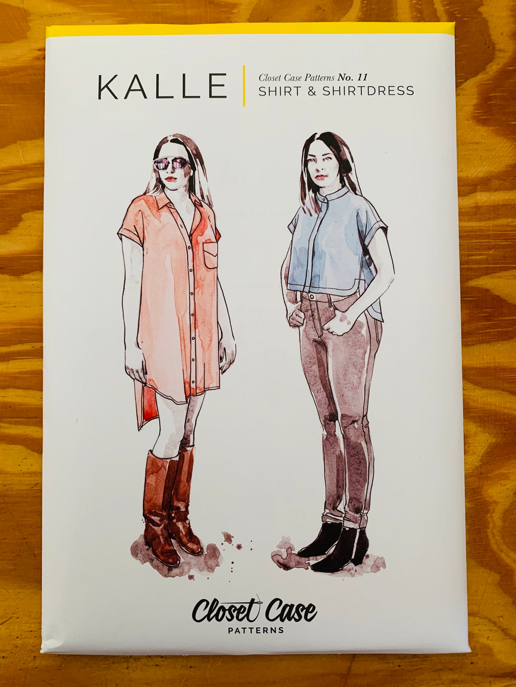 Closet Core  Kalle sewing pattern