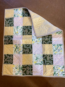 The Selvedge Society  baby quilt: Open Road