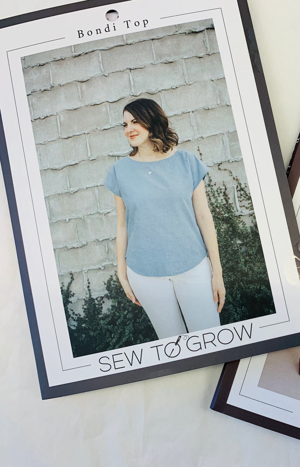 Sew To Grow Bondi top paper sewing pattern