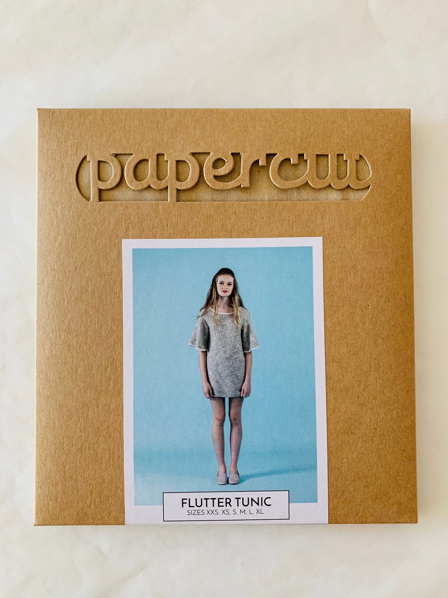 Papercut Flutter Tunic Paper Sewing Pattern