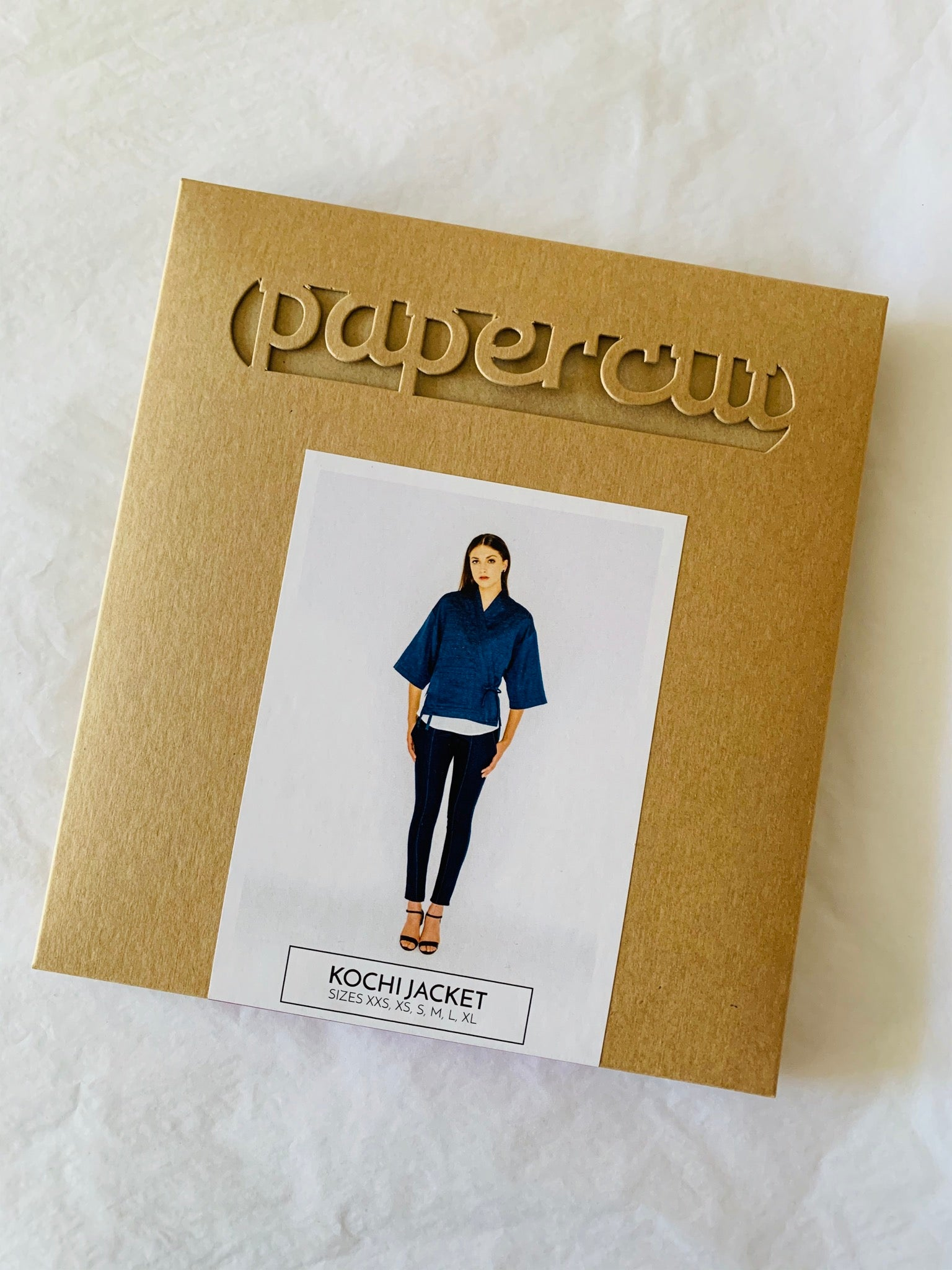 Papercut Kochi Jacket Paper Sewing Pattern
