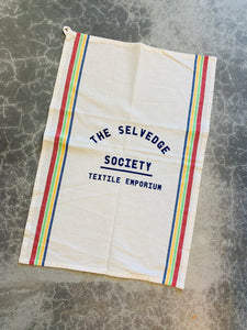 TSS cotton tea towel: Multi