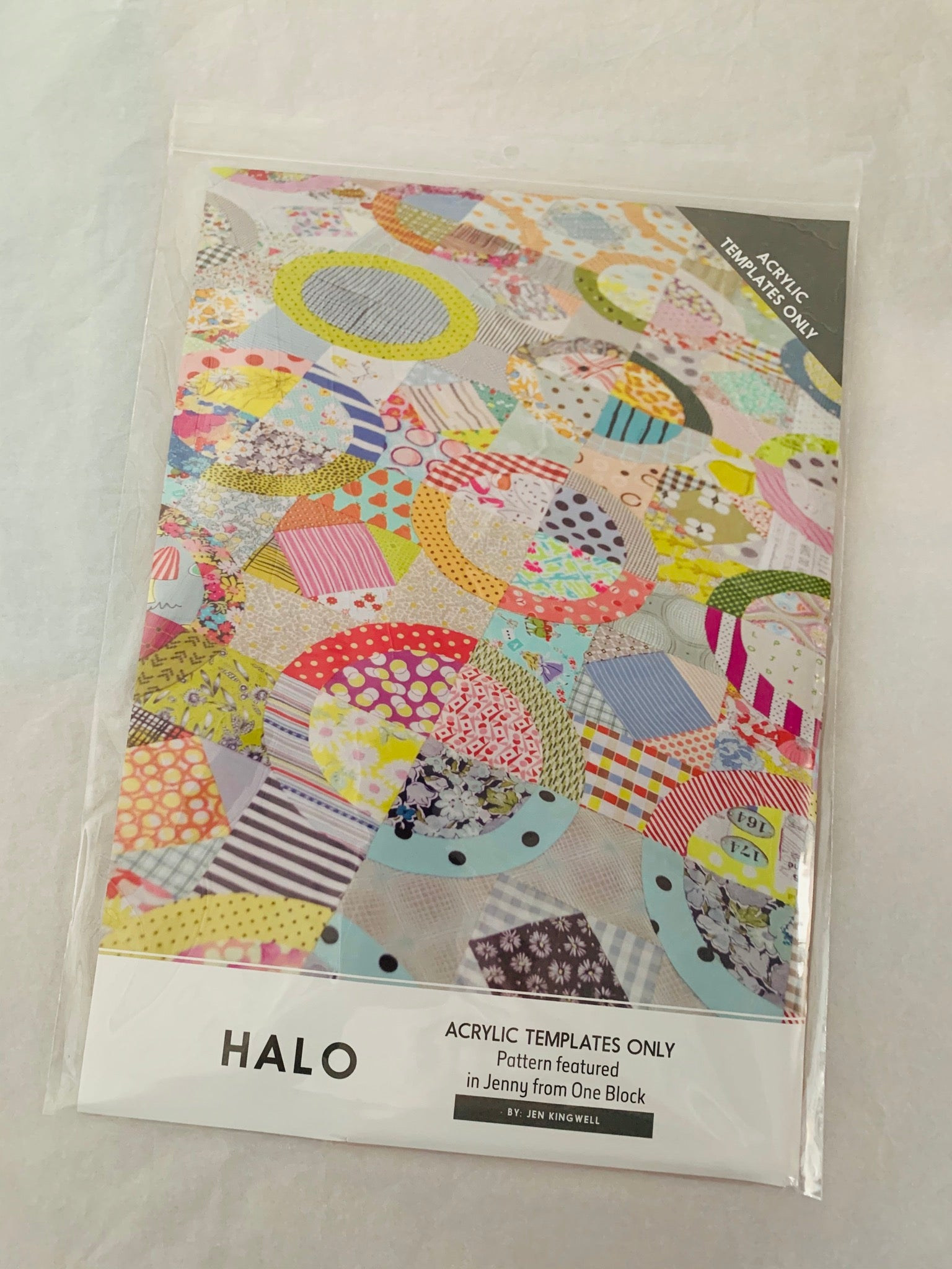 Jen Kingwell Designs: Halo Acrylic Templates only