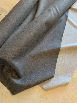 Twill wool coating