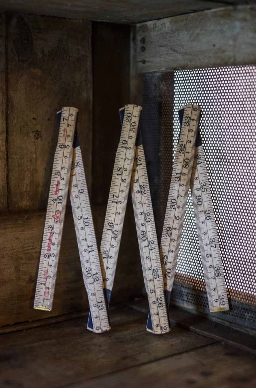 Merchant & Mills Wooden Folding Ruler