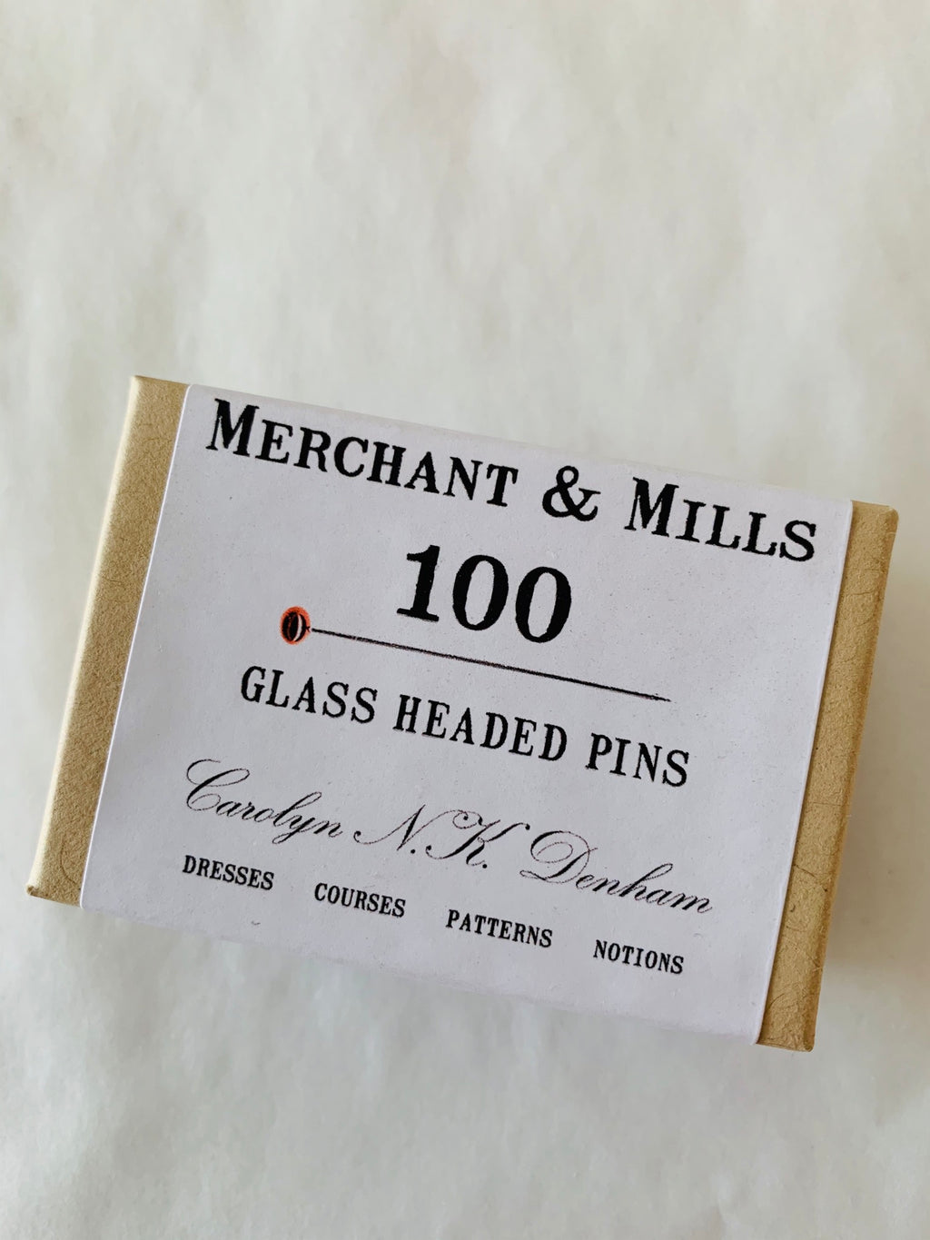 Merchant and Mills 100 Glass Headed Pins