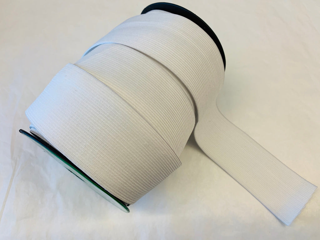 Elastic: 50mm in black or white