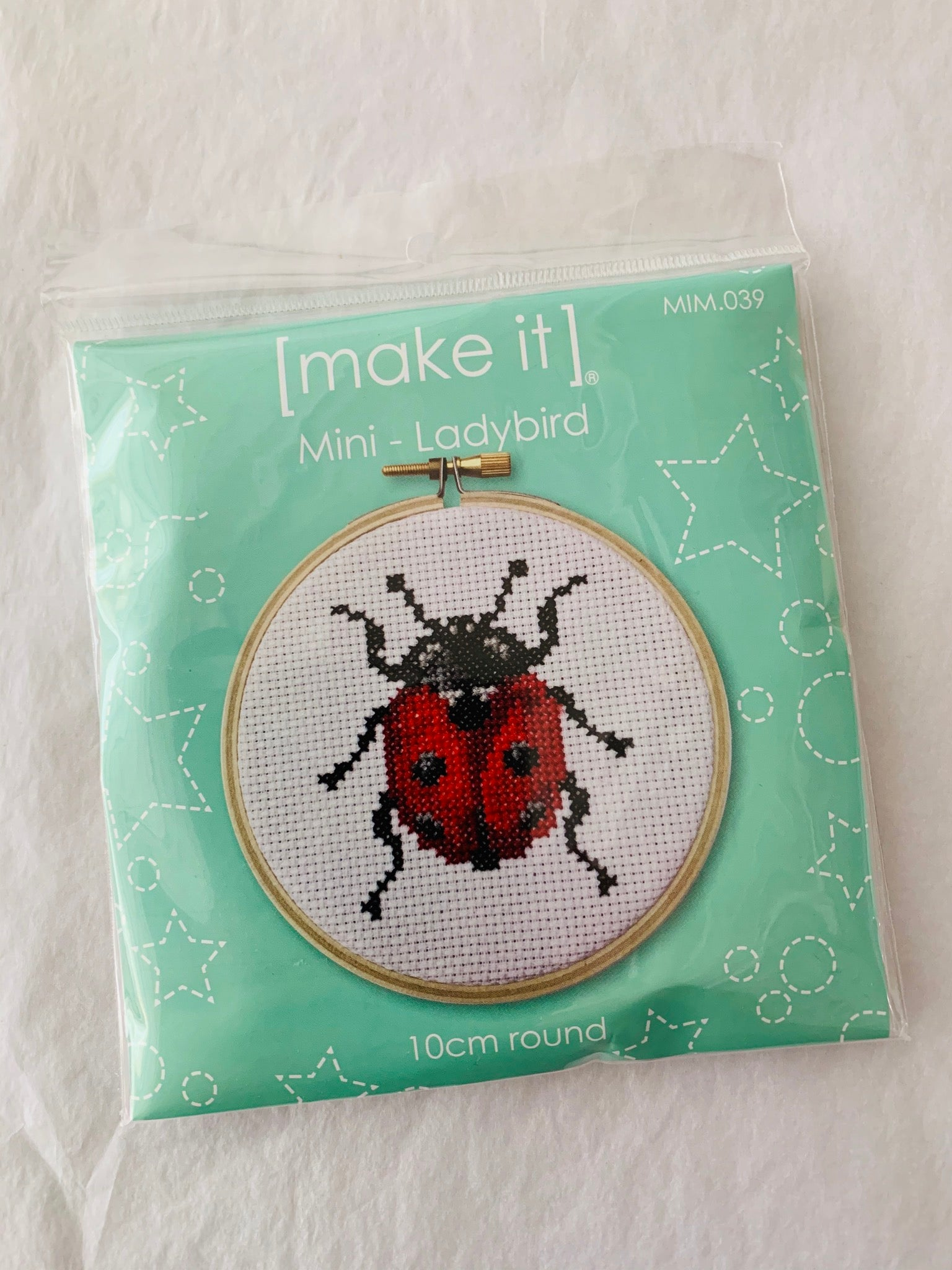 Make It Stitch Kit: Ladybird