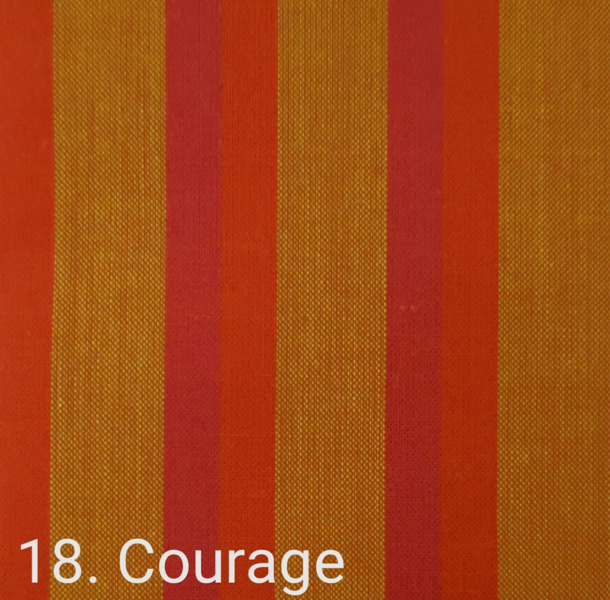 Lanna Woven: Courage stripe