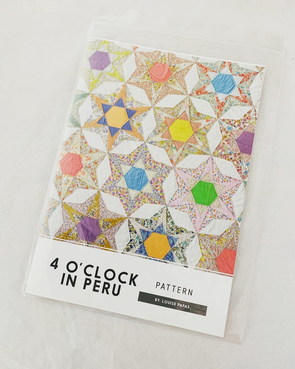 Jen Kingwell Designs: 4 o'clock in Peru pattern