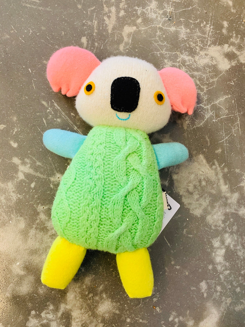 Maiike koala in Fluoro by Aly Peel