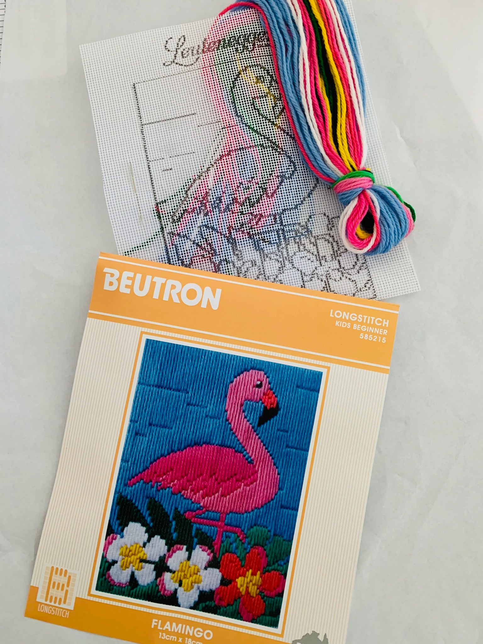 Beutron Longstitch Kids Beginner: Flamingo