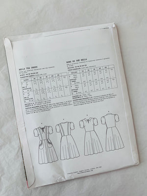 Liberty sewing pattern: Bella Tea Dress 14-22