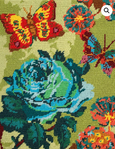 Anna Horner Conservatory Crafts Embroidery Kit: Cabbage Rose