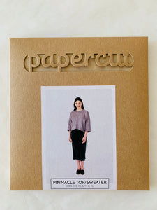 Papercut Pinnacle Top/Sweater Paper Sewing Pattern