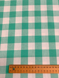 Cotton and Steel gingham check: Turquoise