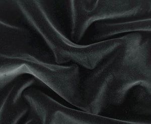 Velvet Cotton Blend in Black
