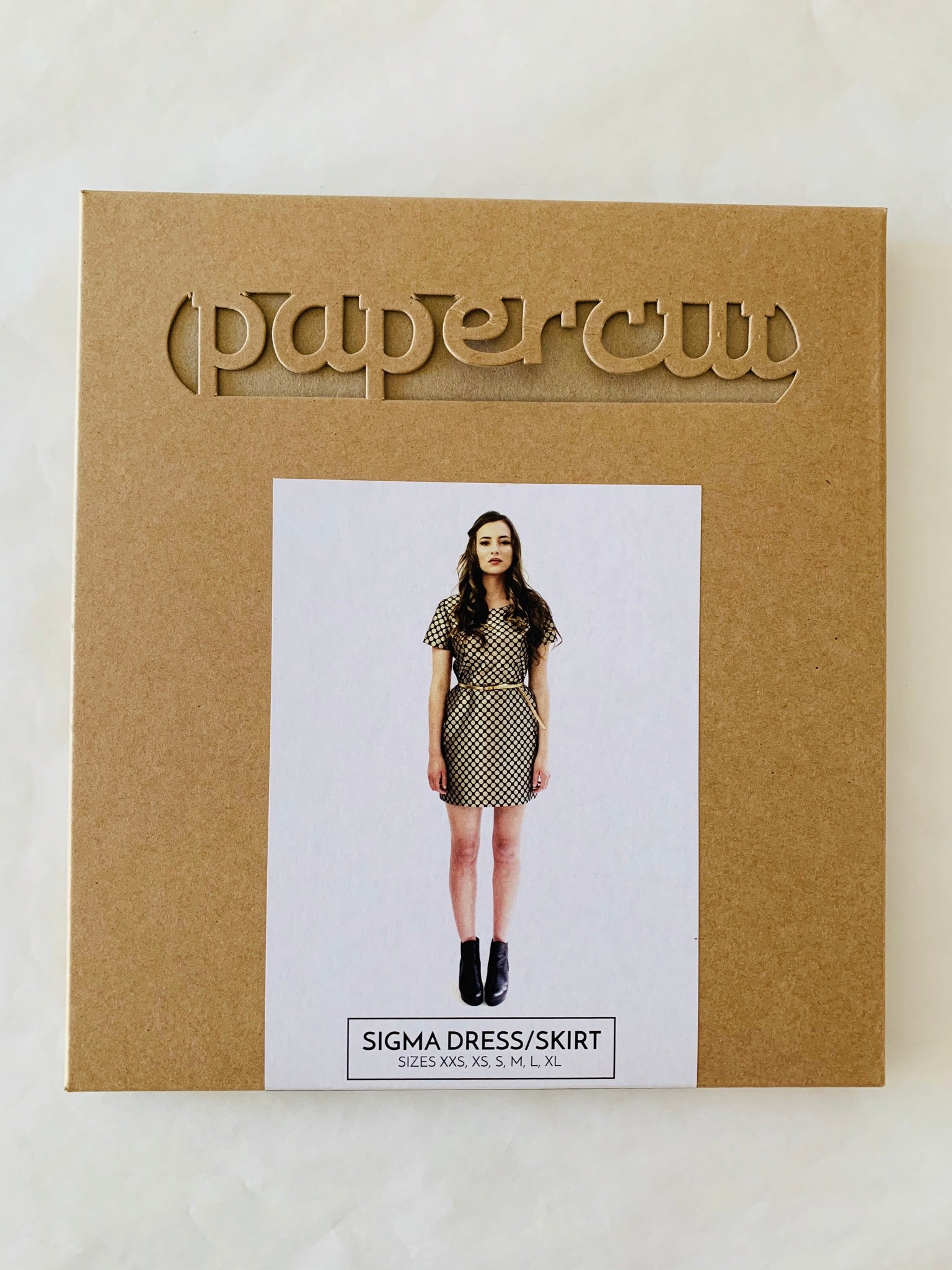 Papercut Sigma dress Paper Sewing Pattern