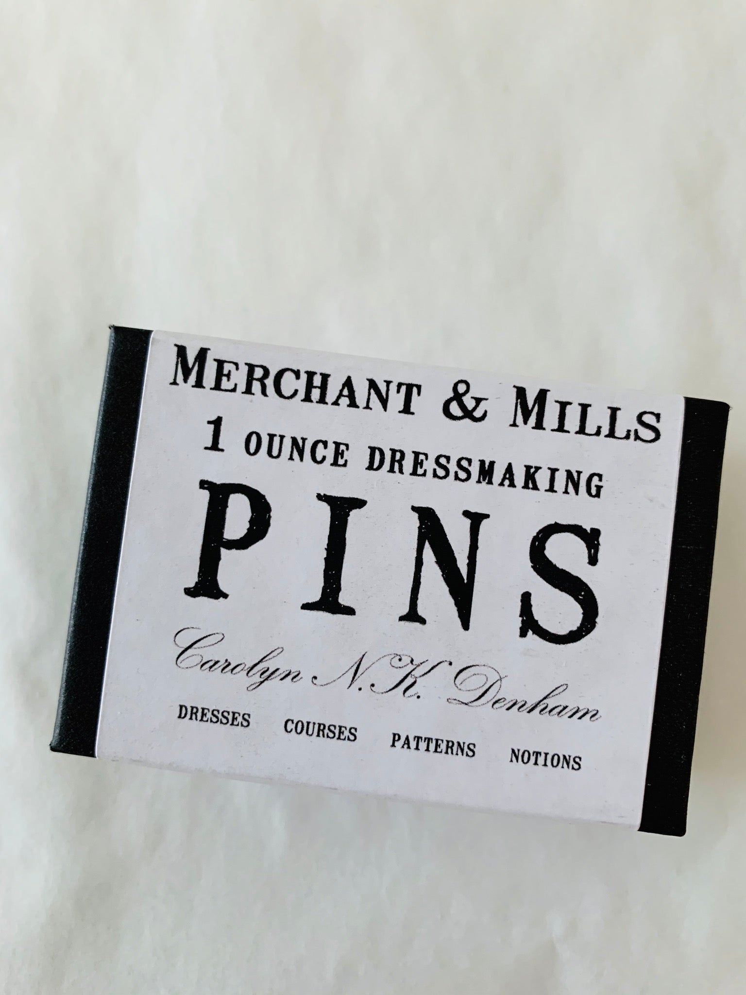 Merchant and Mills 1 ounce dressmaking pins