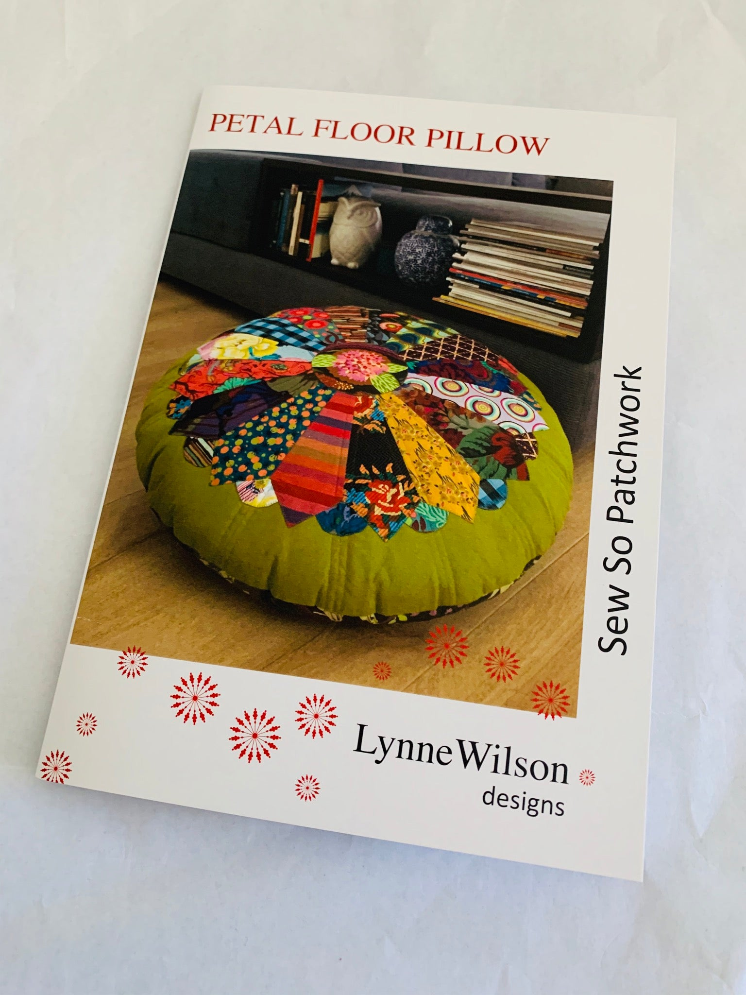 Lynne Wilson Designs: Petal Floor Pillow