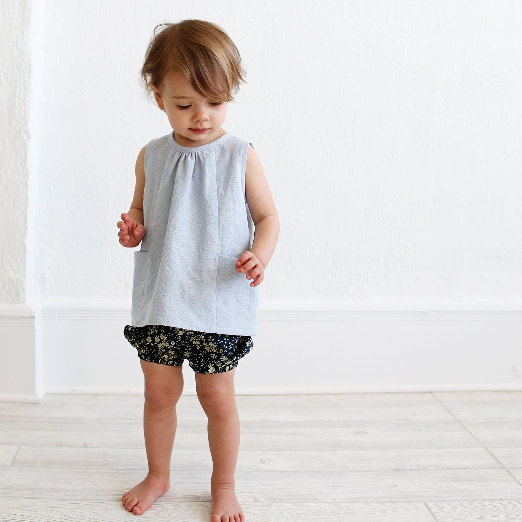 Wiksten Baby + Toddler Bloomer + Pant Paper Sewing Pattern
