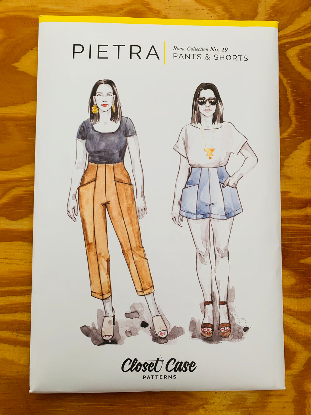 Closet Core Pietra sewing pattern