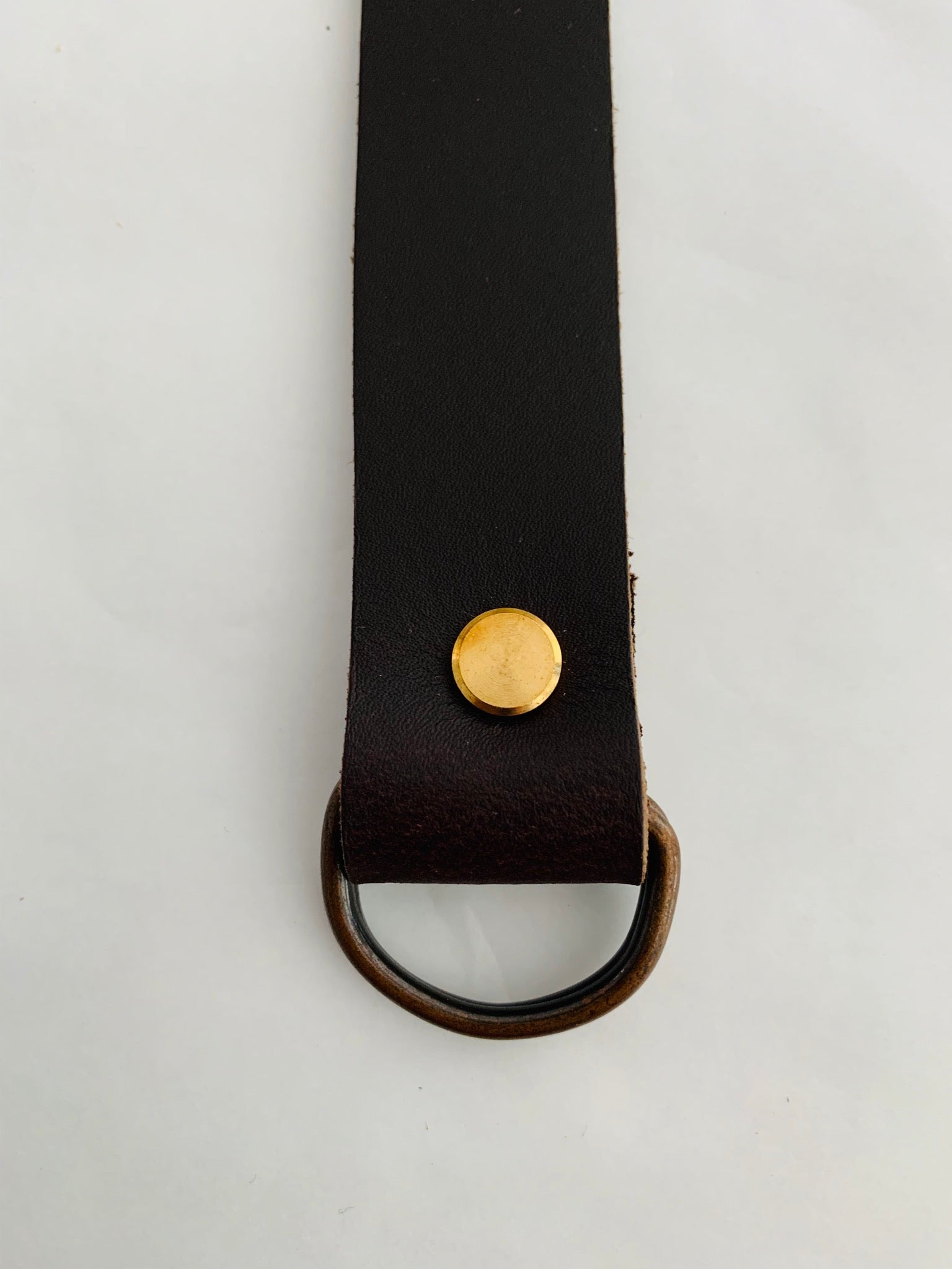 Leather furoshiki handle: 52cm length