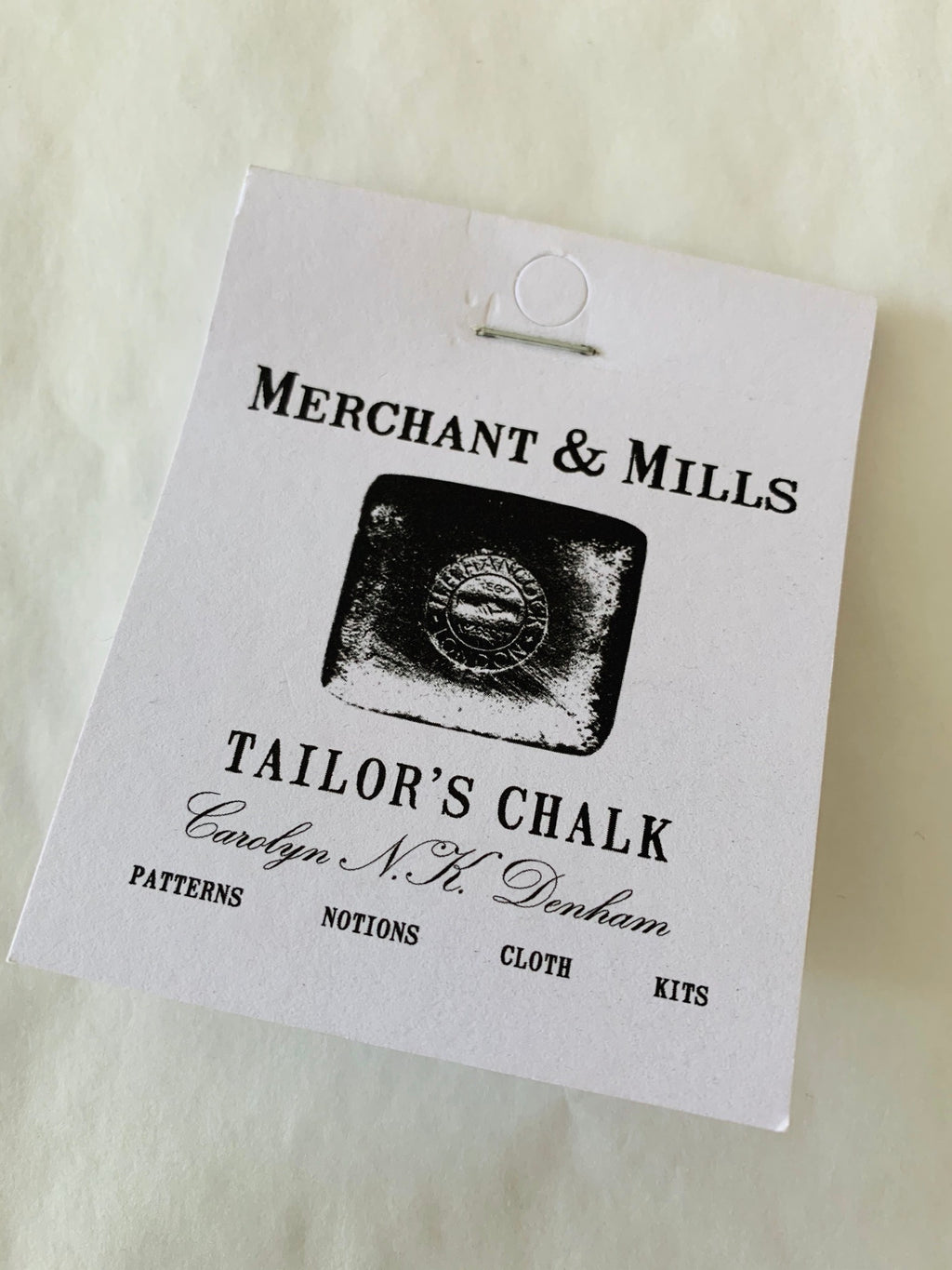 Merchant and Mills Tailor's Chalk