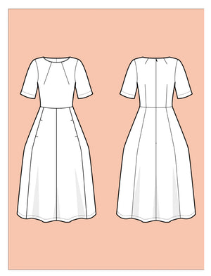 Assembly Line Tulip Dress Sewing Pattern