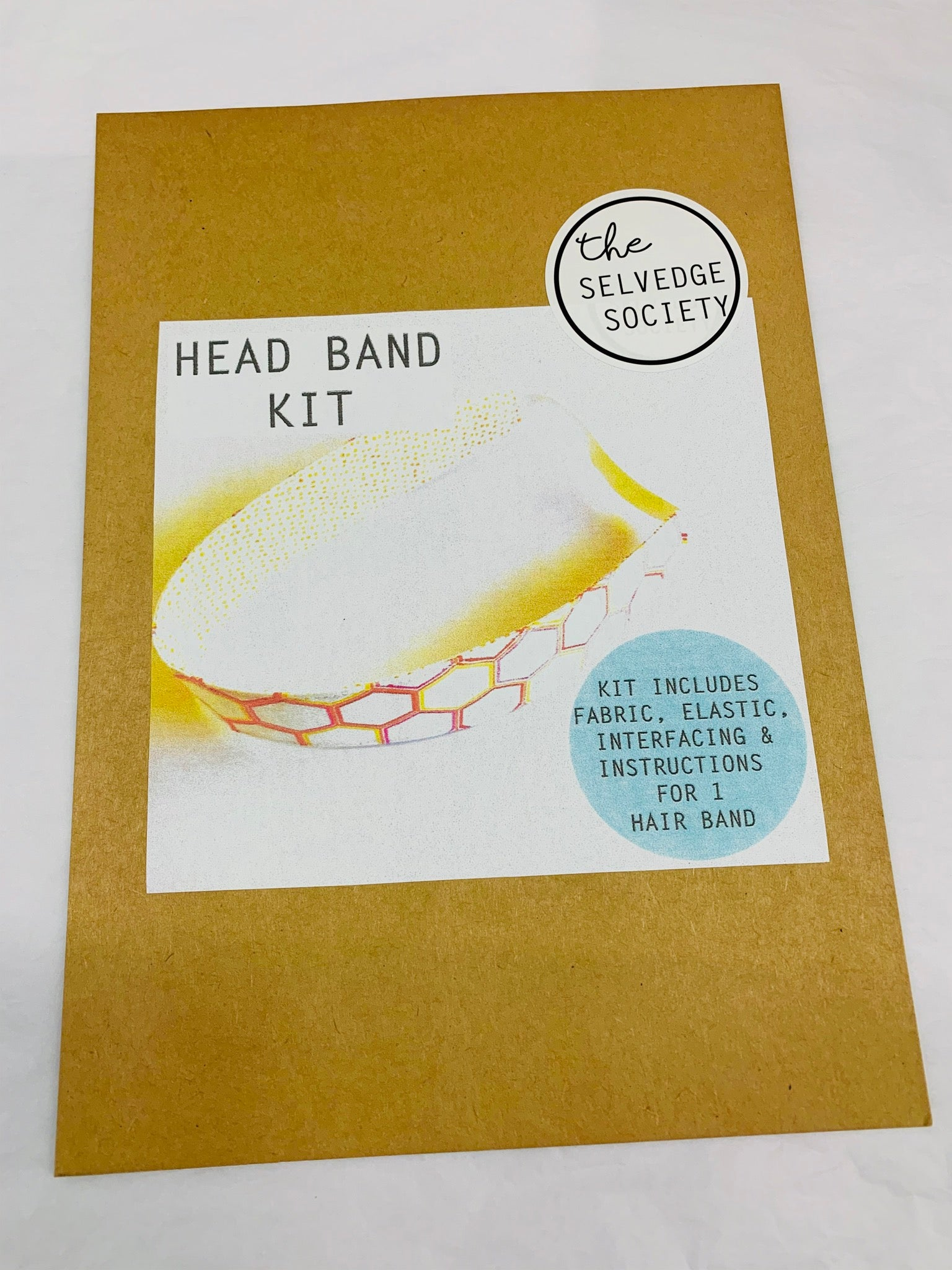 The Selvedge Society Head Band Kit