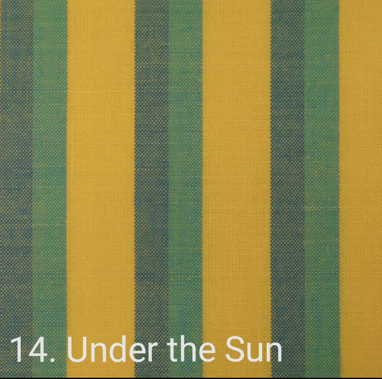 Lanna Woven: Under the sun stripe