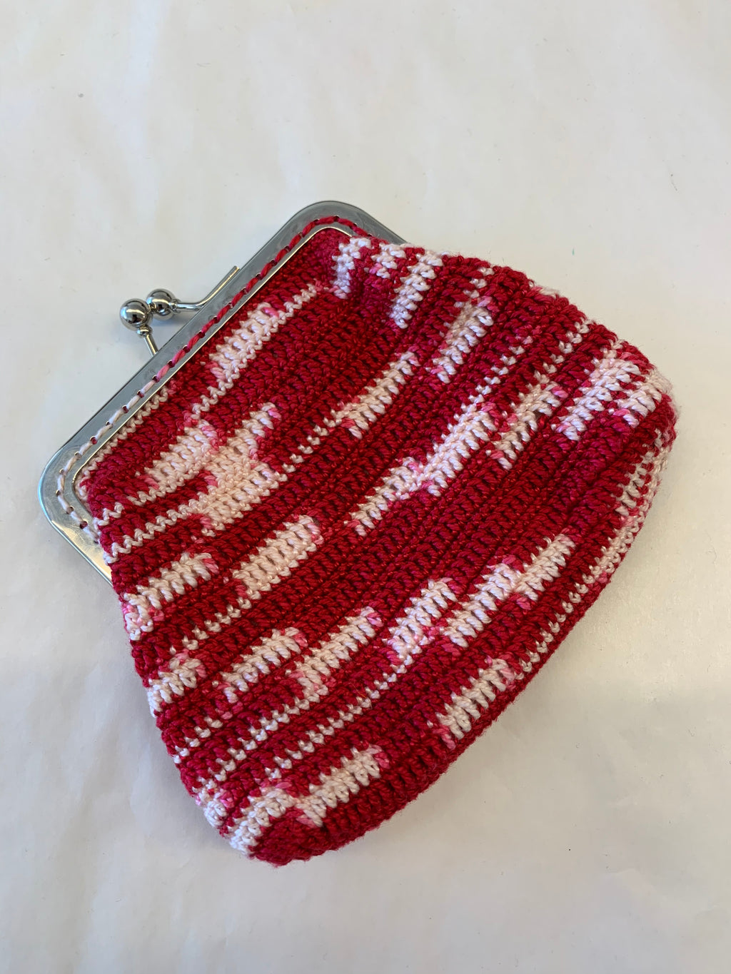 Handmade Crochet Clip purse