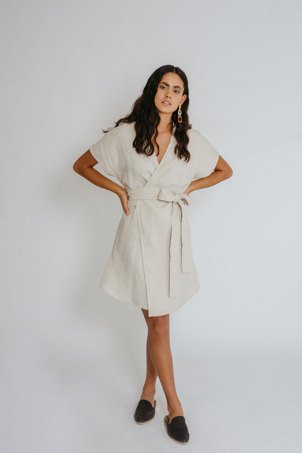Common Stitch Bellbird Wrap Dress + Wrap Top Paper Sewing Pattern