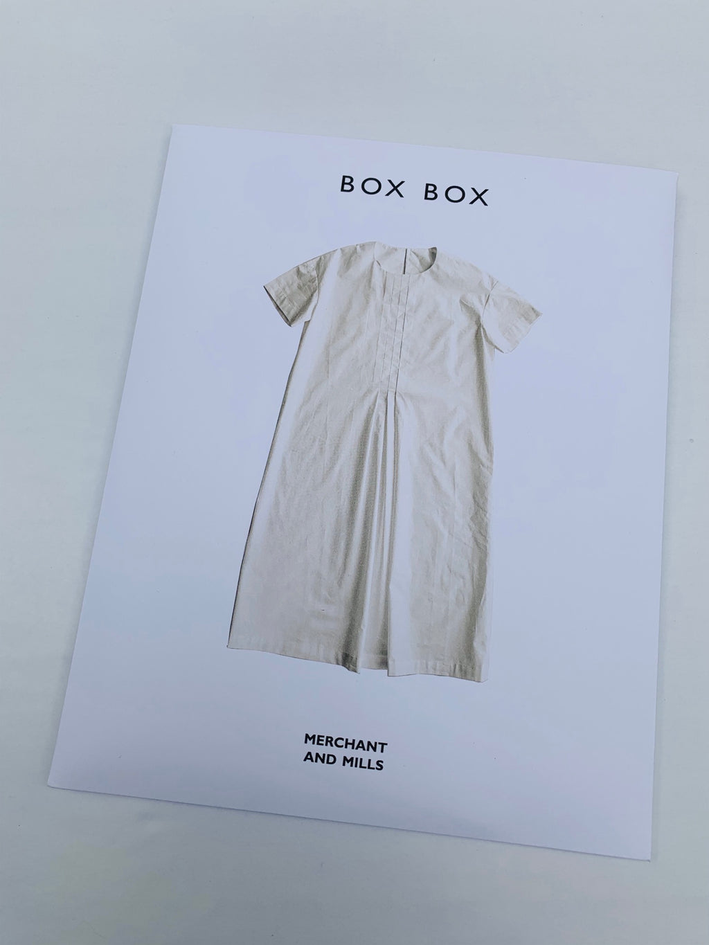 Merchant & Mills Sewing Pattern: Box Box
