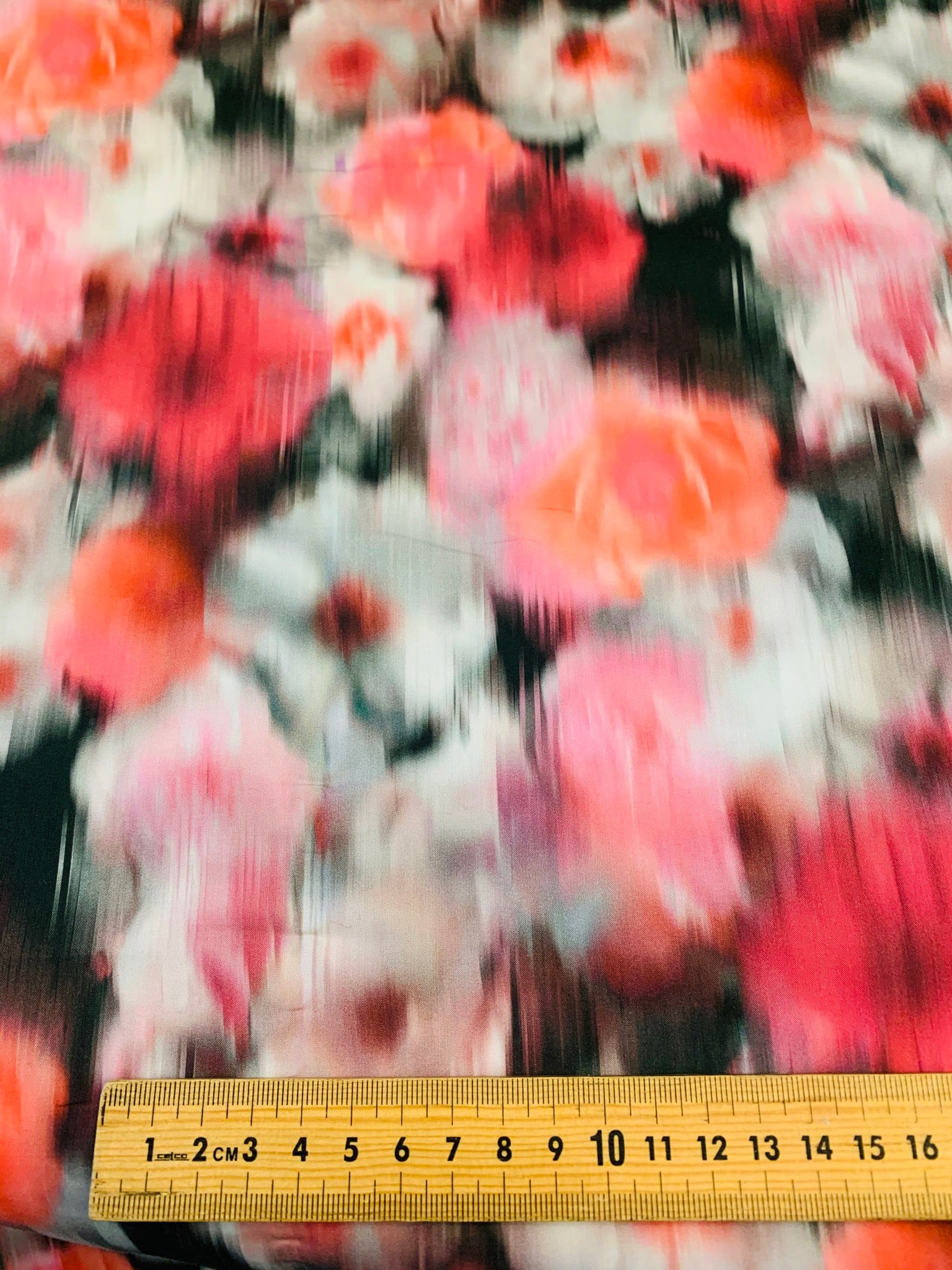 Liberty Fabrics Blurred Rose in Rose Tint