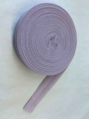 The Selvedge Society cotton bias binding: purples